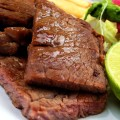 Bistecca e verdure