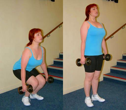 Squat gambe e glutei: esercizi in casa