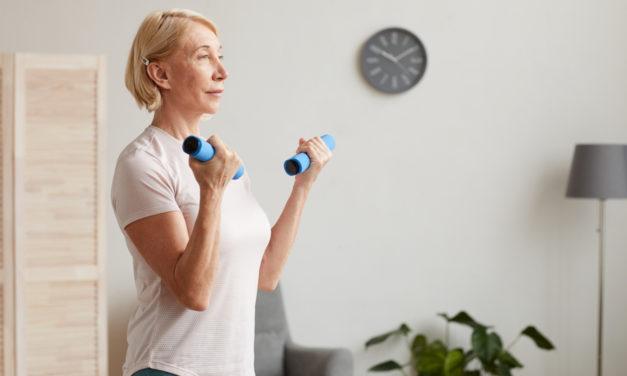 Esercizi per dimagrire in menopausa